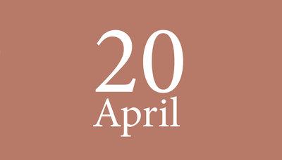 Shopmoment dinsdag 20 april