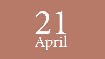 Shopmoment woensdag 21 april