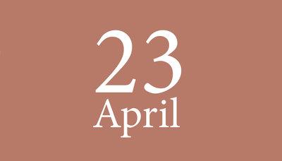 Shopmoment vrijdag 23 april