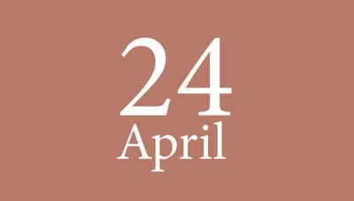 Shopmoment zaterdag 24 april
