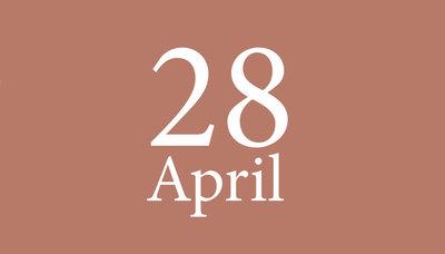 Shopmoment woensdag 28 april