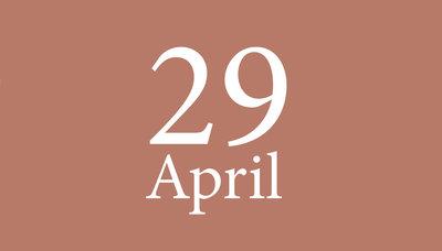 Shopmoment donderdag 29 april