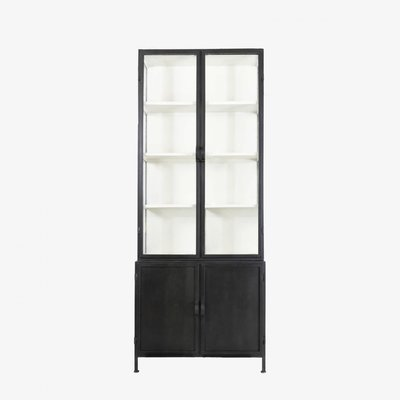 New Routz Detroit vitrinekast - zwart
