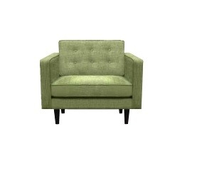 Ethnicraft: N101 Sofa Olive Green