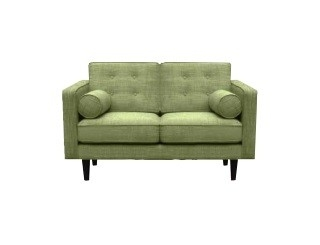 Ethnicraft: N101 Sofa 2-zits Olive Green