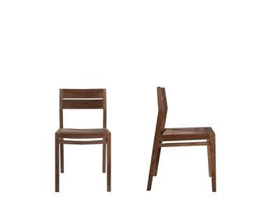 Ethnicraft : EX 1 stoel teak