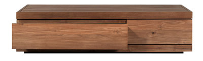 Ethnicraft: Burger Teak coffee table 2 drawer