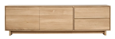 Ethnicraft Wave TV cupboard oak