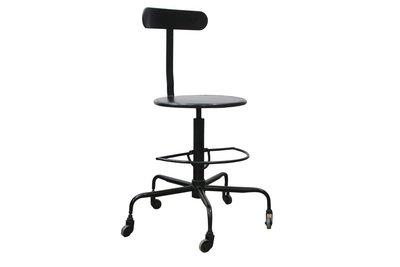Bodilson mia vintage bureau draai stoel natuurlijk wonen