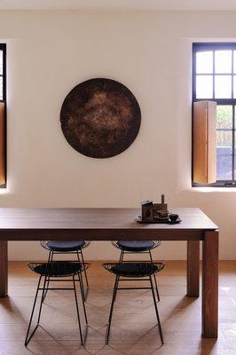 Ethnicraft Slice Extendable dining table walnut