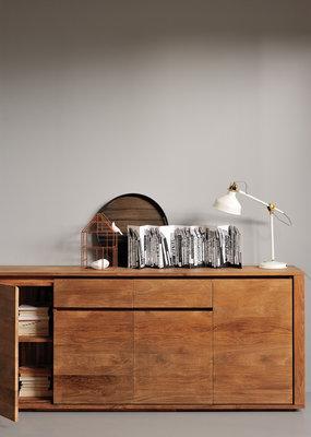 Ethnicraft: Elemental cupboard 4 doors 2 drawers