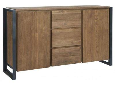 D-Bodhi Fendy hoog dressoir met 2 deuren en 3 laden