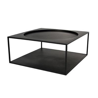 HKLiving metalen koffietafel zwart