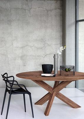 Ethnicraft: Walnut Circle dining table 163