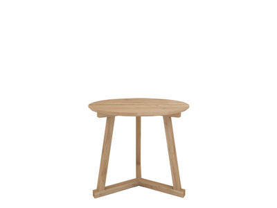 Ethnicraft Tripod side table large oak