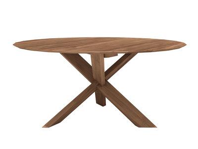 Ethnicraft: Teak Circle dinning table 136