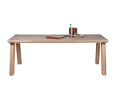 BePure Dining table Almond