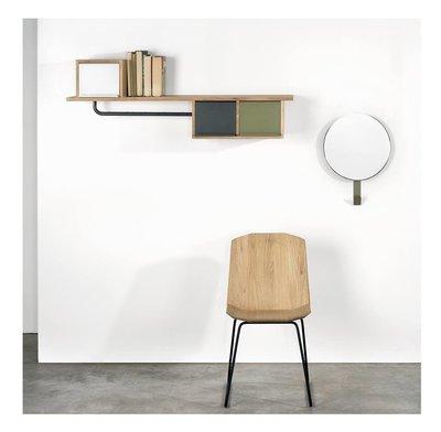 Ethnicraft Facette oak chair