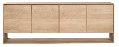Ethnicraft Oak Nordic Sideboard 4 doors