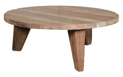 HKLiving coffee table reclaimed teak