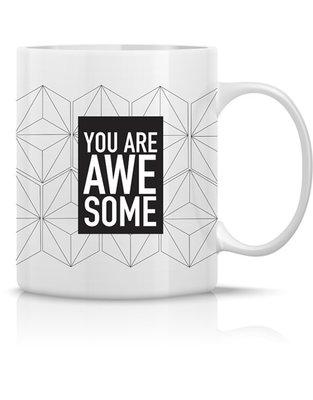 Mug 'You are awesome'