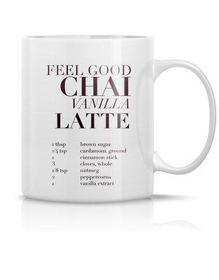 Mug 'Feel good chai vanilla latte'