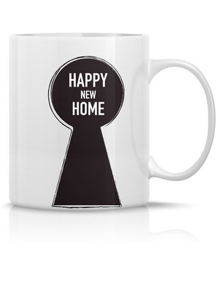 Mug 'Happy new home'