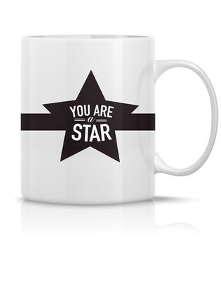Mug 'You are a star'