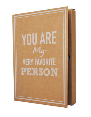Notebook 'You are my very favorite person '
