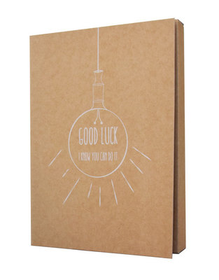 Notebook 'Good luck i know you can do it '