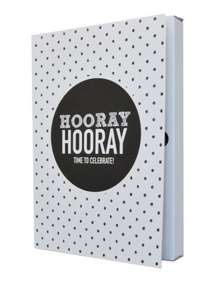 Notebook 'Hooray hooray time to celebrate'