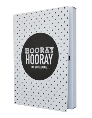 Notebook 'Hooray hooray time to celebrate'
