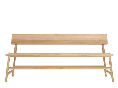 Ethnicraft : N2 Lounge Bench Oak 180cm
