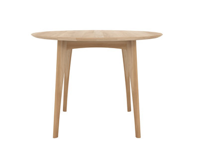 Ethnicraft Osso round table high oak