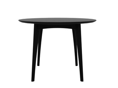 Ethnicraft Osso round table high oak black