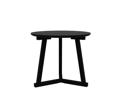 Ethnicraft: Tripod table large blackstone