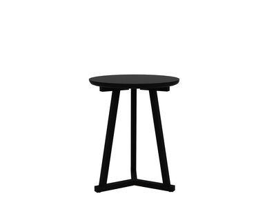 Ethnicraft: Tripod table blackstone