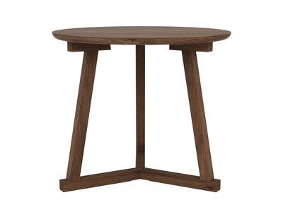Ethnicraft Tripod side table walnut