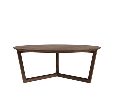 Ethnicraft Tripod coffee table walnut