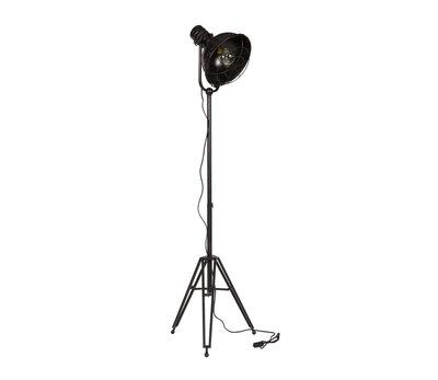 BePure: Spotlight staande vloerlamp zwart