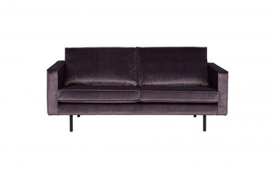 BePureHome Rodeo 2,5 zits bank Velvet  grijs