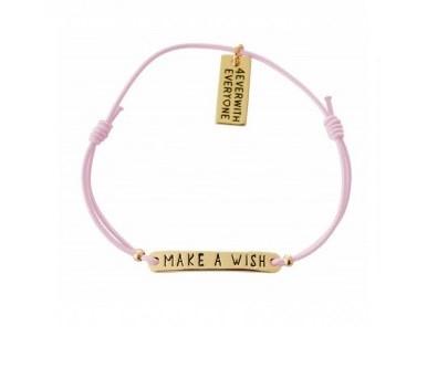 4everwitheveryone armbandje: Make a wish