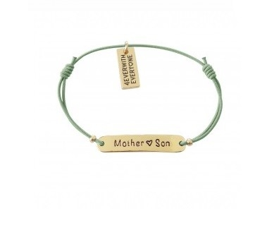 4everwitheveryone armbandje: Mother ♥ Son