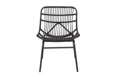 BePureHome Chat lounge stoel zwart