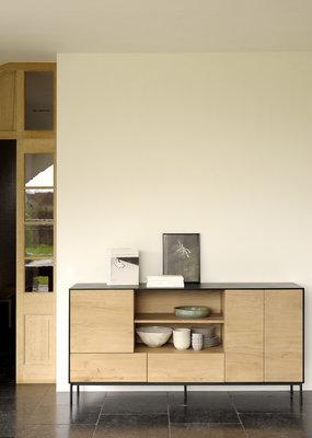 Ethnicraft blackbird sideboard 3 deurs 2 lades
