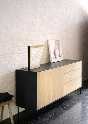 Ethnicraft blackbird dressoir 2 deurs 3 lades