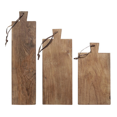 HK Living broodplank teak S