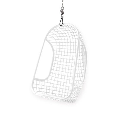 HK Living : Rattan Hanging chair white