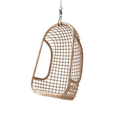 HKLiving Rattan Hanging chair natural