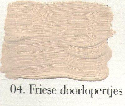 L'Authentique: Krijtverf 04 Friese Doorlopertjes